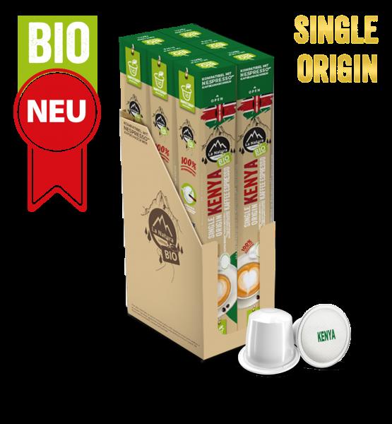 Kenya Single Origin BIO káva - 60 kapslí La Natura Lifestyle