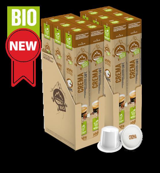 Café BIO Crema - 120 capsules La Natura Lifestyle