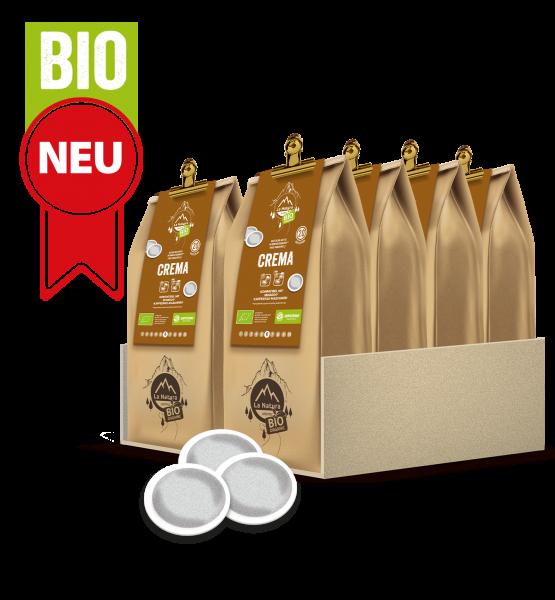 Crema BIO Kaffee 200 Pads La Natura Lifestyle