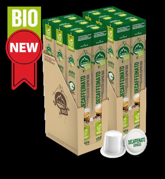 Café BIO Decaffeinato Espresso - 120 capsules La Natura Lifestyle