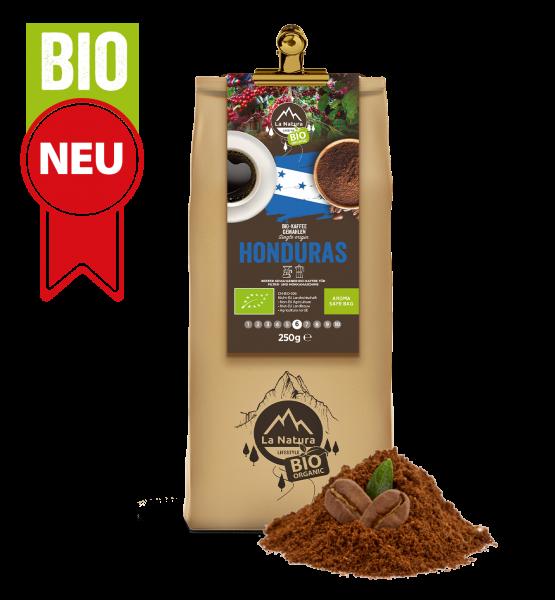 Honduras BIO Plantagen Single Origin Kaffee gemahlen 250g La Natura Lifestyle