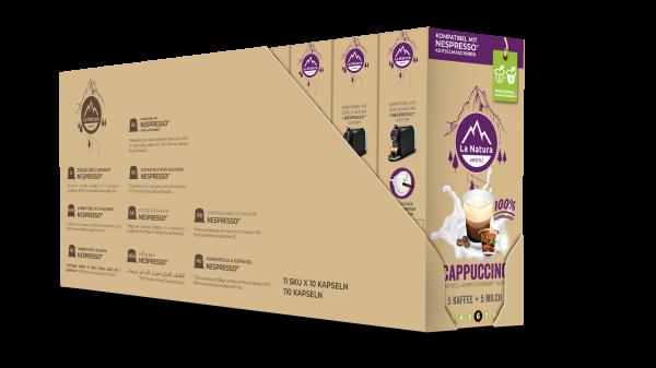 Cappuccino - 100er Multipack La Natura Lifestyle CRS