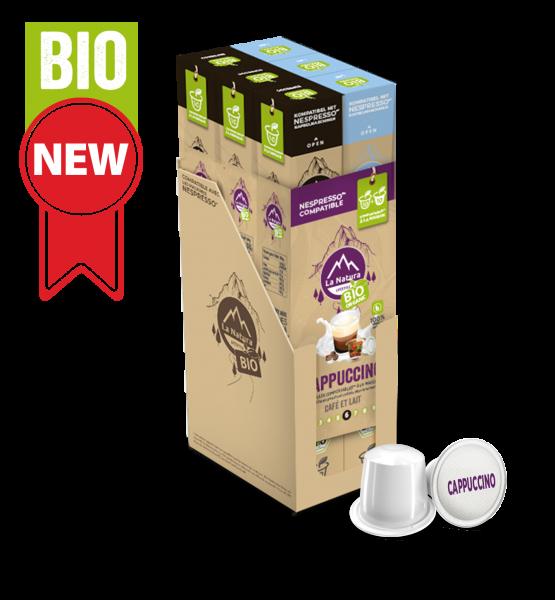 Café BIO Cappuccino - 60 capsules La Natura Lifestyle