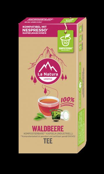 Waldbeere Tee - 10 Kapseln La Natura Lifestyle CRS