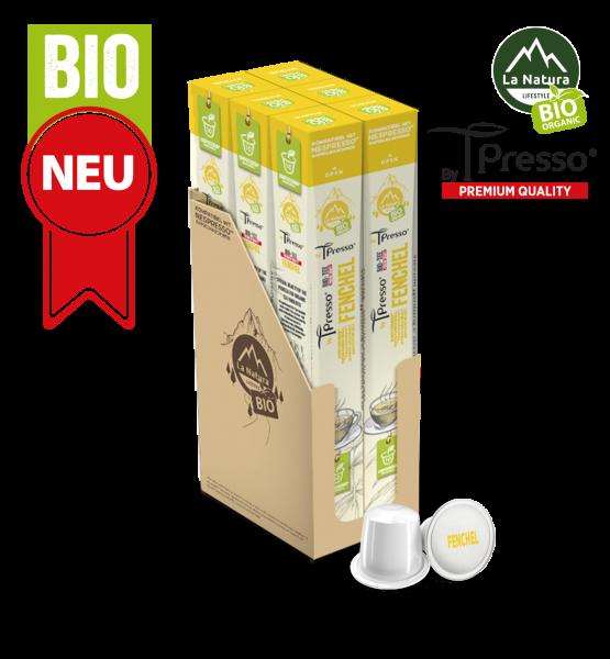 Fenchel BIO Tee - 60 Kapseln La Natura Lifestyle by Tpresso BAG