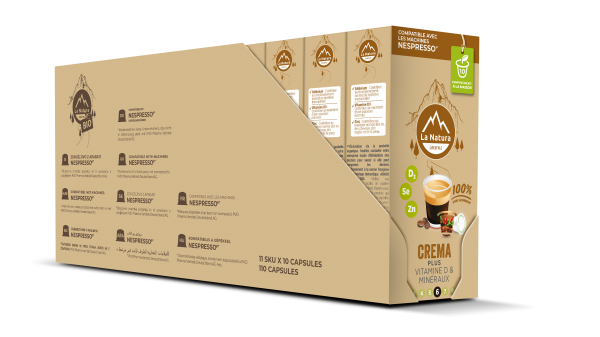 Crema Plus - 110 capsules Multipack La Natura Lifestyle
