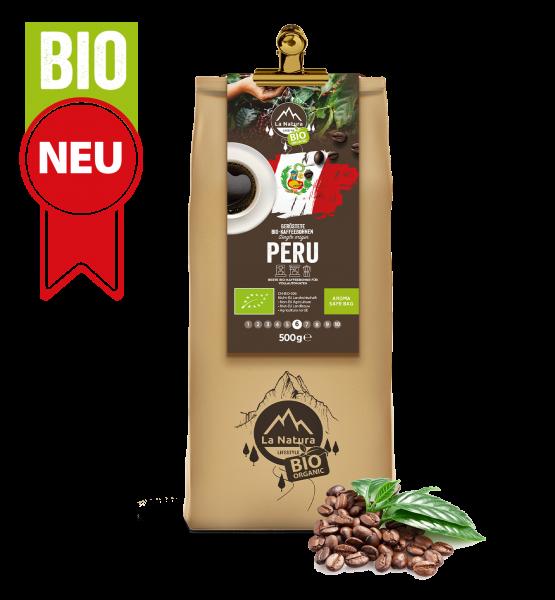 Peru Single Origin BIO zrnková káva 500g La Natura Lifestyle