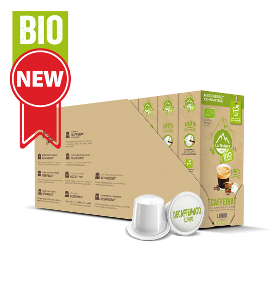 Café BIO Decaffeinato Lungo - 110 capsules Multipack La Natura Lifestyle