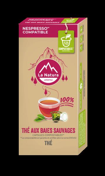 Thé Baies Sauvages - 10 capsules La Natura Lifestyle-Copy