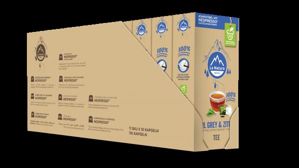 Earl Grey & Zitrus Tee - 100er Multipack La Natura Lifestyle CRS
