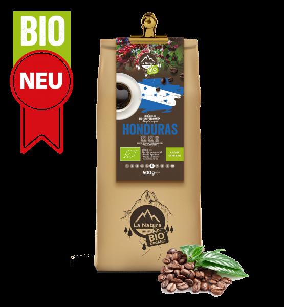 Honduras BIO Plantagen Single Origin Kaffee Bohne 500g La Natura Lifestyle
