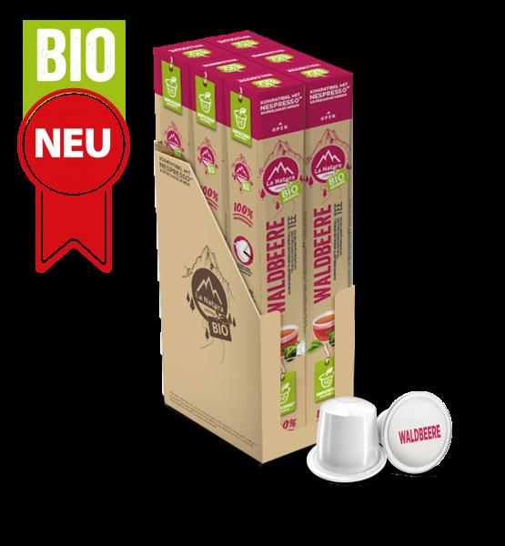BIO Čaj Lesné plody - 60 kapsúl La Natura Lifestyle