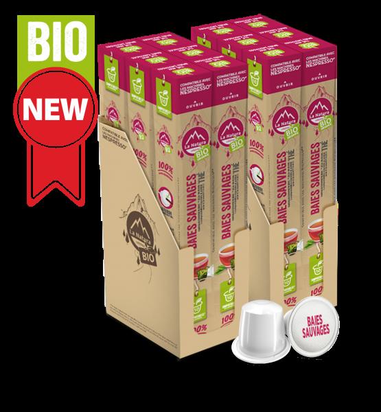 Thé BIO Baies Sauvages - 120 capsules La Natura Lifestyle
