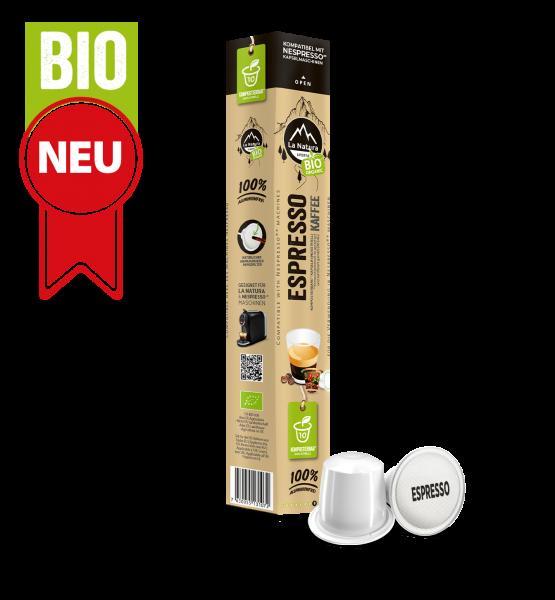 Espresso BIO káva - 10 kapslí La Natura Lifestyle