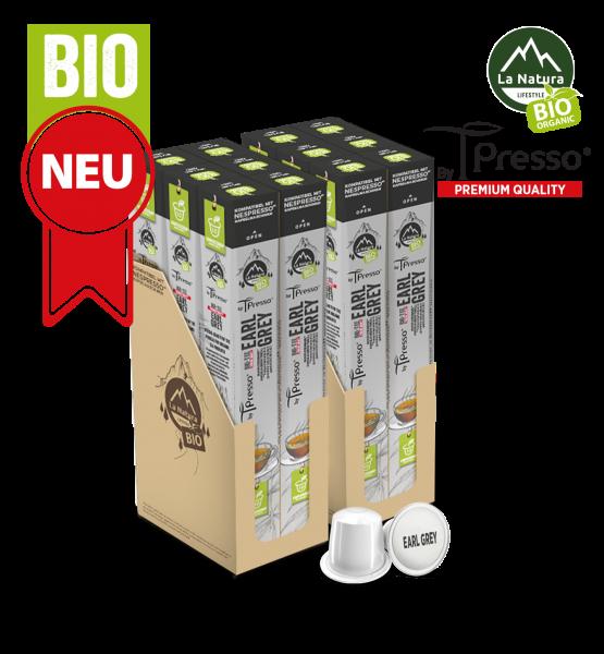 Earl Grey BIO Tee - 120 Kapseln La Natura Lifestyle by Tpresso BAG