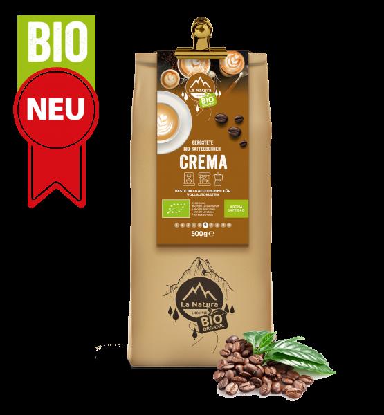 Milder Crema BIO Kaffee 500g La Natura Lifestyle