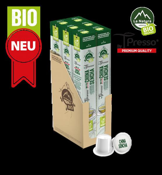China Sencha BIO Tee - 60 Kapseln La Natura Lifestyle by Tpresso BAG