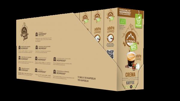 Crema BIO Kaffee - 100er Multipack La Natura Lifestyle
