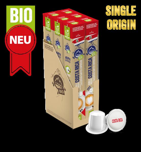 Costa Rica Plantagen Single Origin BIO Kaffee - 60 Kapseln La Natura Lifestyle