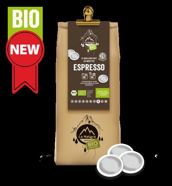 Café BIO Espresso 20 Dosettes La Natura Lifestyle