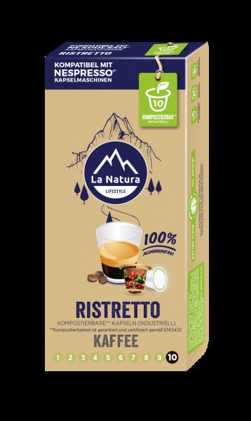 Ristretto - 10 Kapseln La Natura Lifestyle
