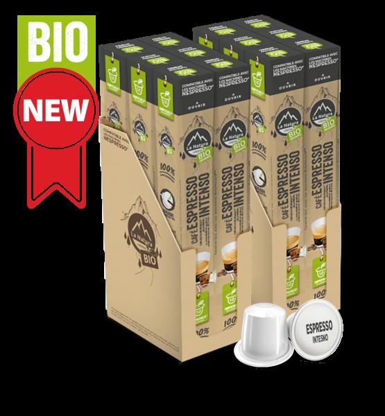Café BIO Espresso Intenso - 120 capsules La Natura Lifestyle