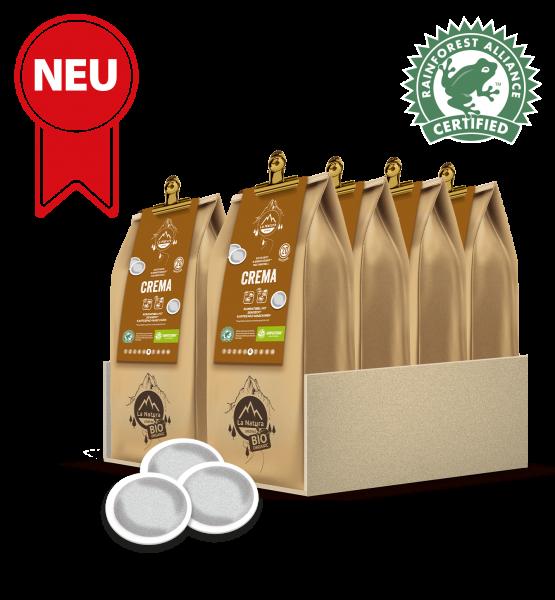 Crema RainForest Kaffee 200 Pads La Natura Lifestyle