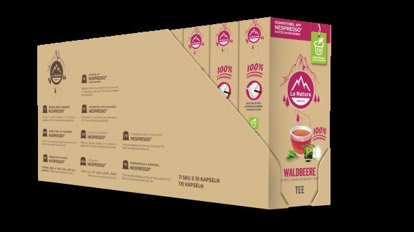 Waldbeere Tee - 100er Multipack La Natura Lifestyle CRS