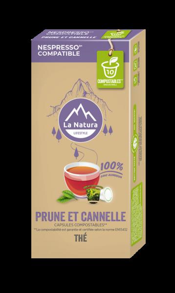 Thé Prune et Cannelle - 10 capsules La Natura Lifestyle-Copy