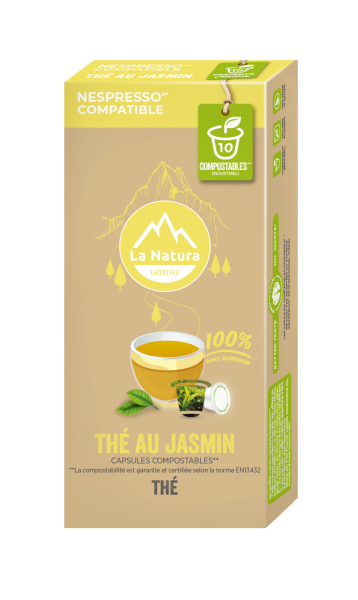 Thé Jamsin - 10 capsules La Natura Lifestyle