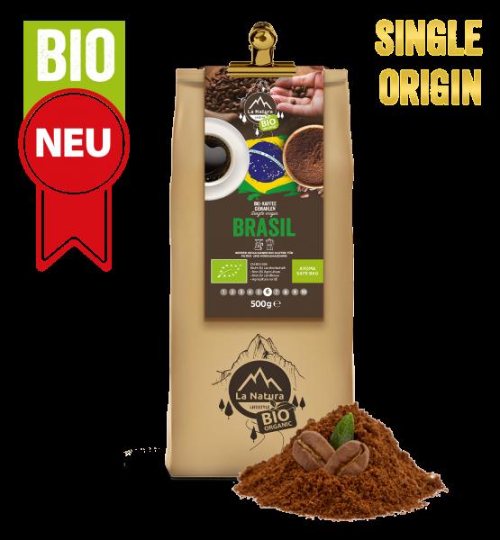 Brasil Bio plantážní káva Single Origin mletá 250g La Natura Lifestyle