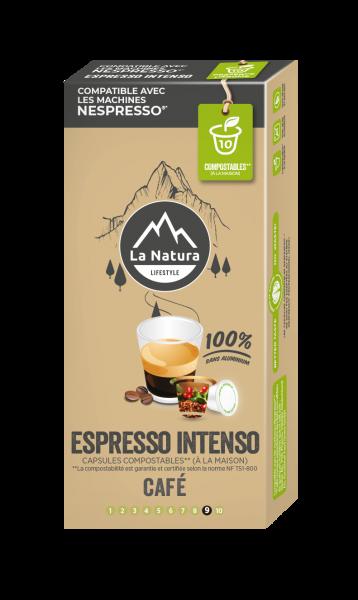 Espresso Intenso - 10 capsules La Natura Lifestyle