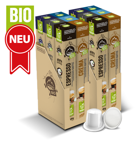Zvýhodnený balíček BIO Káva - 120 kapslí La Natura Lifestyle