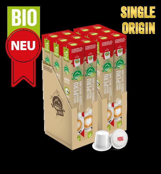 Peru Plantagen Single Origin BIO Kaffee - 120 Kapseln La Natura Lifestyle