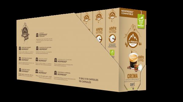 Crema - 110 capsules Multipack La Natura Lifestyle