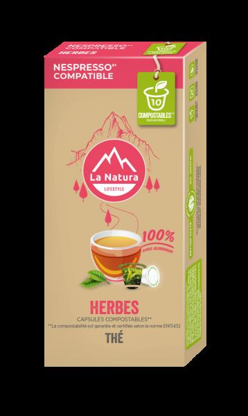Thé aux Herbes - 10 capsules La Natura Lifestyle