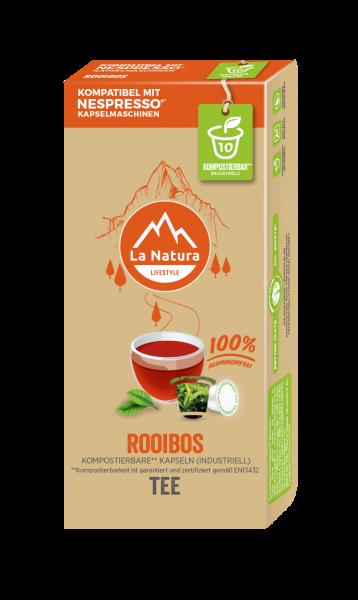 Rooibos Tee - 10 Kapseln La Natura Lifestyle CRS