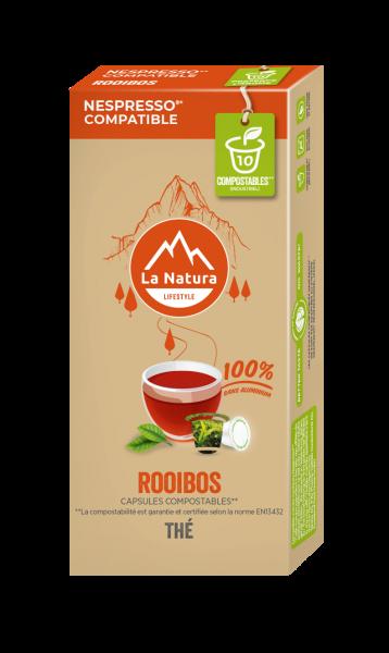 Thé Rooibos - 10 capsules La Natura Lifestyle
