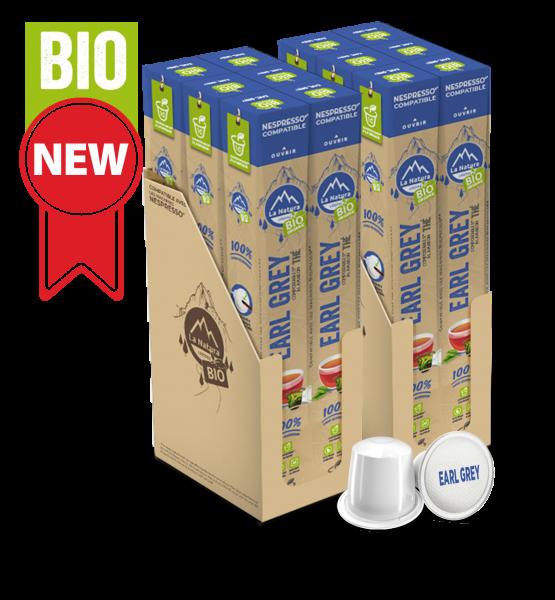 Thé BIO Earl Grey & Agrumes - 120 capsules La Natura Lifestyle