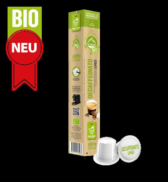 Decaffeinato Lungo BIO Káva - 10 kapslí La Natura Lifestyle