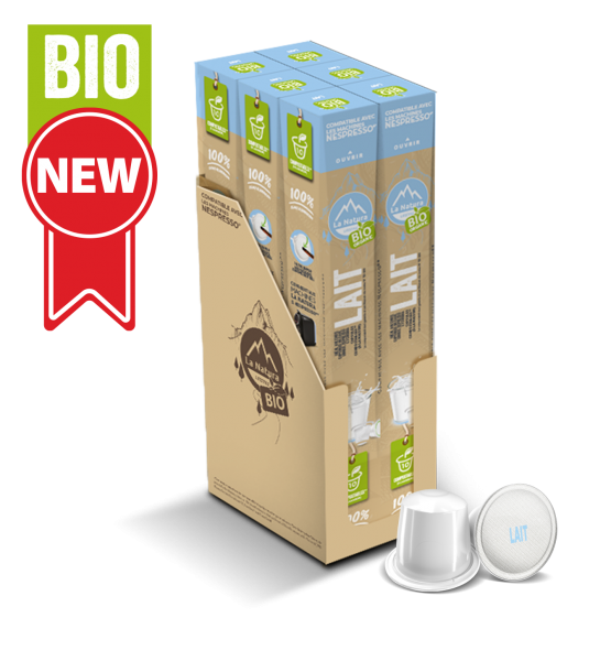 Lait BIO - 60 capsules La Natura Lifestyle