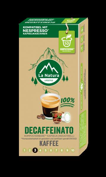 Decaffeinato - 10 Kapseln La Natura Lifestyle