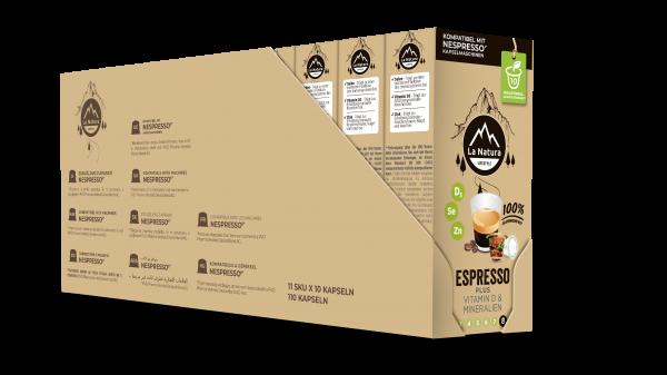 Espresso Plus - 100er Multipack La Natura Lifestyle CRS