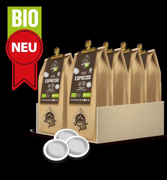 Espresso BIO Kaffee 200 Pads La Natura Lifestyle