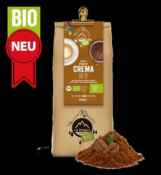 Crema BIO káva mletá 500g La Natura Lifestyle