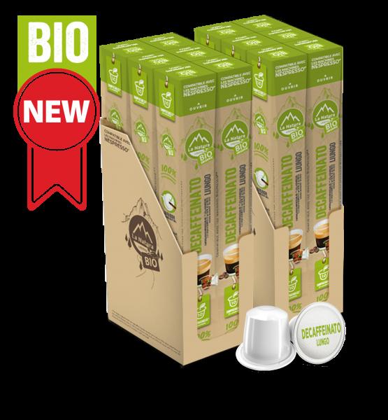 Café BIO Decaffeinato Lungo - 120 capsules La Natura Lifestyle
