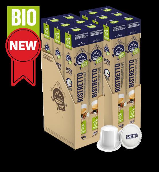 Café BIO Ristretto - 120 capsules La Natura Lifestyle