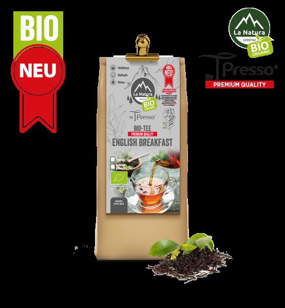 English Breakfast BIO Teeblatt - La Natura Lifestyle by Tpresso