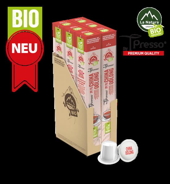 China Oolong BIO Tee - 60 Kapseln La Natura Lifestyle by Tpresso BAG
