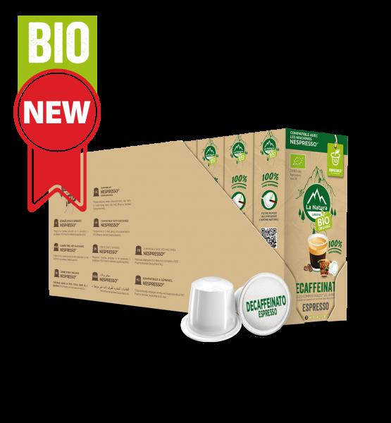 Café BIO Decaffeinato Espresso - 110 capsules Multipack La Natura Lifestyle